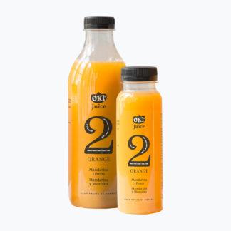 Suc de mandarina i poma OKI Orange