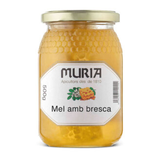 Mel amb bresca 500gr